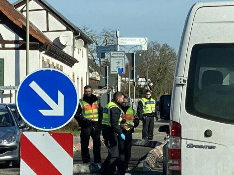 Grenze Frankreich Deutschland Kontrolle