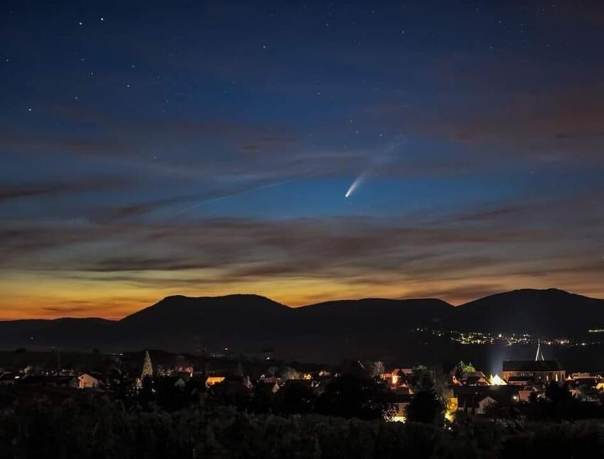 Komet Neowise Rheinland Pfalz