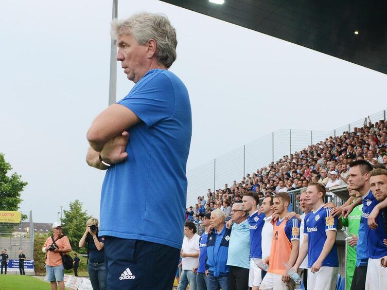 Führte in seinen sieben Jahren als Cheftrainer den FKP zweimal in die Regionalliga und einmal in den DFB-Pokal: Peter Tretter.
