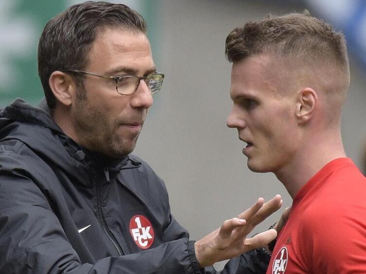 Trainer und Torschütze: Boris Schommers und Florian Pick.
