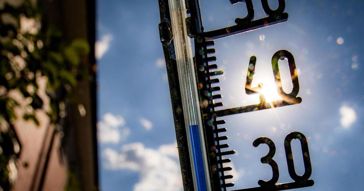 Rekordtemperaturen im September - weiterer Regen vorhergesagt