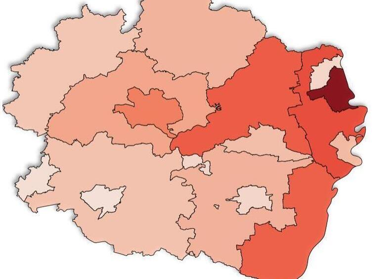 Rheinland Pfalz Corona Karte