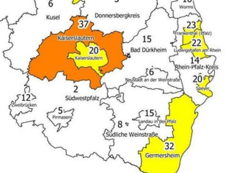 Corona Rheinland Pfalz Landkreise