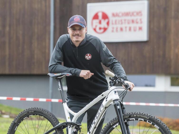 Hat umgesattelt und vom Fahrrad auf den Fußball gesetzt: Wenzel Böhm-Gräber.