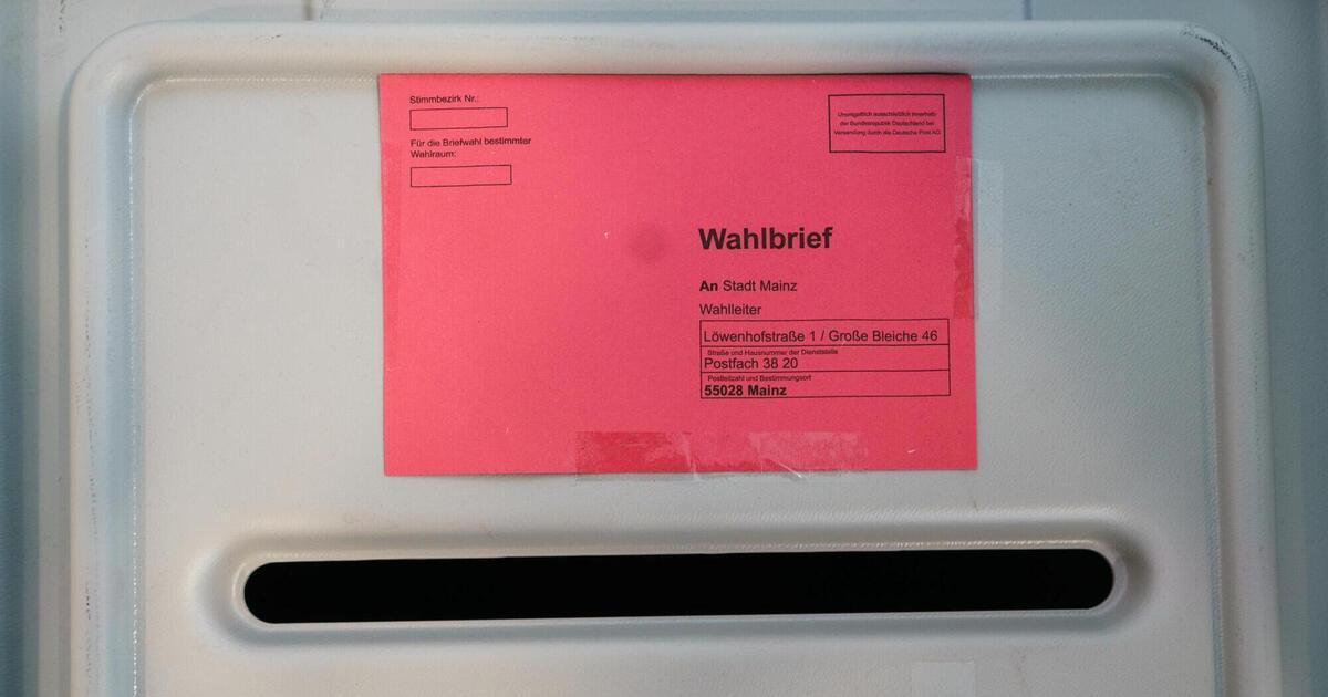 Briefwahl Beantragen Mainz