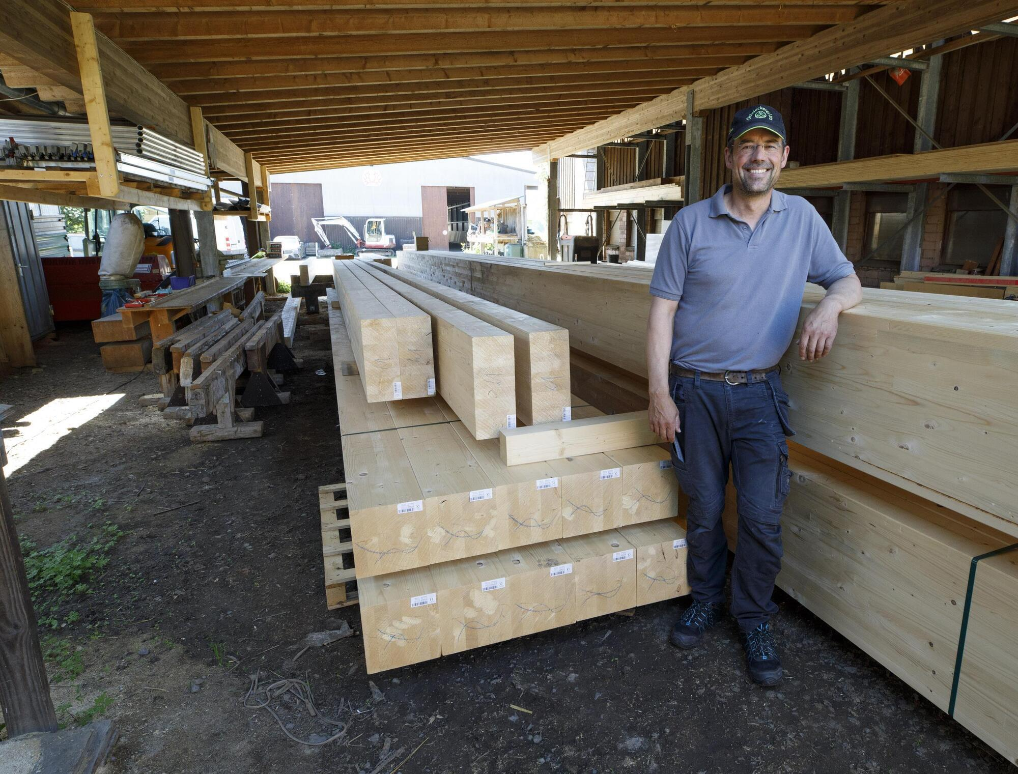 Angespannte Lage auf dem Holzmarkt auch in der Region zu spüren ...