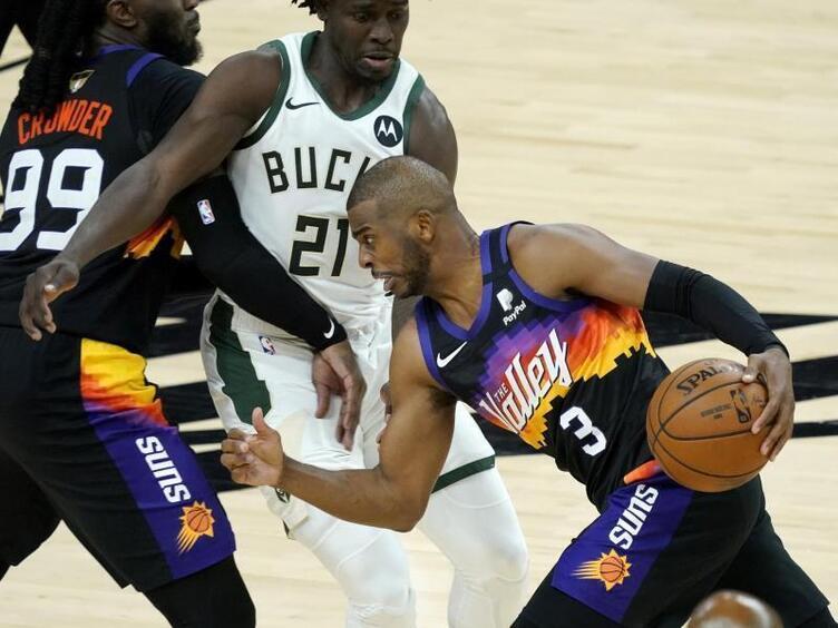 Pauls Finals-Debüt ein Statement: Suns führen gegen Bucks - Sport - DIE RHEINPFALZ
