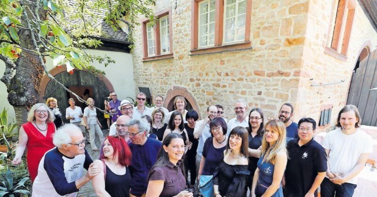 Weltbuhne In Weinbergen Kultur Sudpfalz Die Rheinpfalz