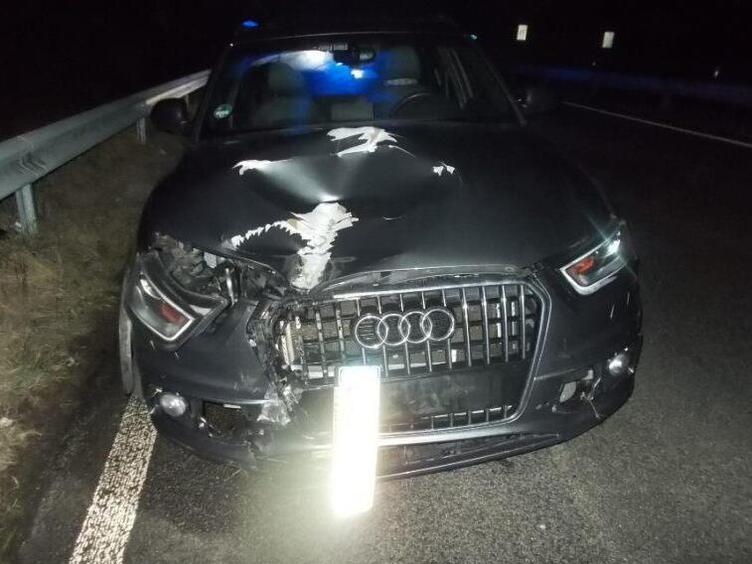 Unfall A65 Landau