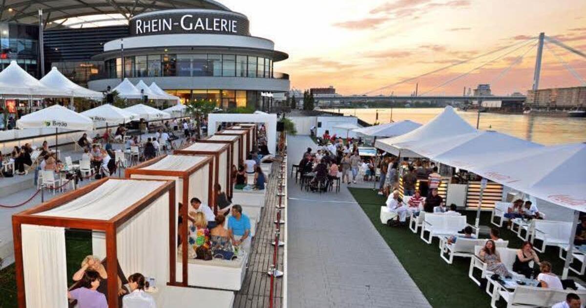 Sunset lounge rheinoase ludwigshafen am rhein