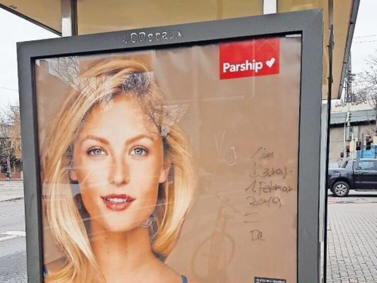 Werbung plakat parship Parship werbung