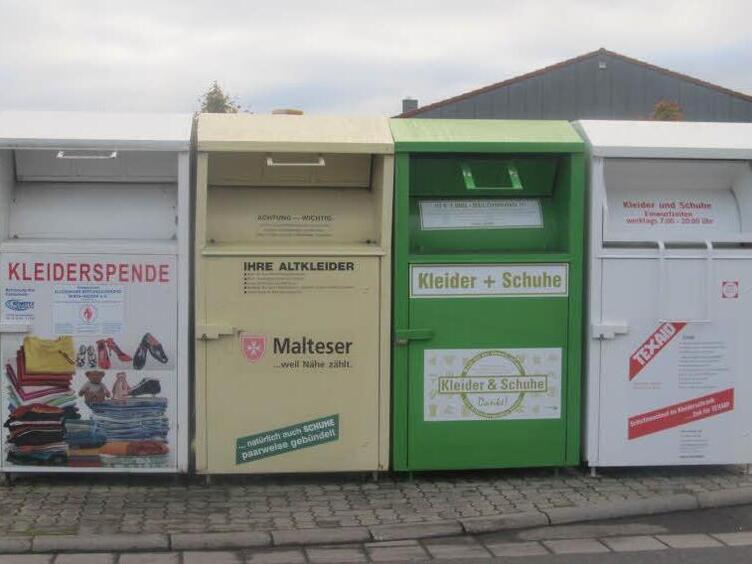 Altkleidercontainer Karlsruhe