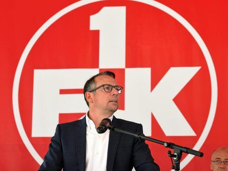 Fck Trennung Von Geschaftsfuhrer Martin Bader Pfalz Die Rheinpfalz Die Rheinpfalz