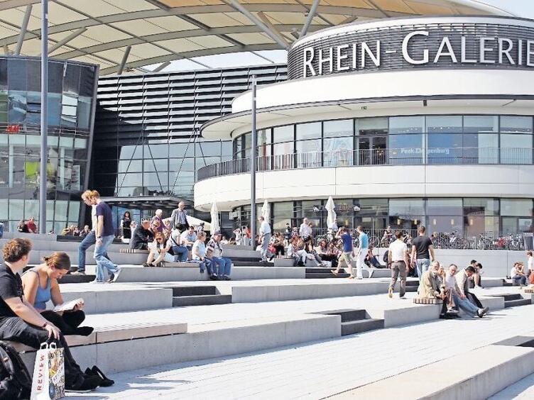 Ludwigshafen Viel Bewegung In Der Rhein Galerie Ludwigshafen Die Rheinpfalz