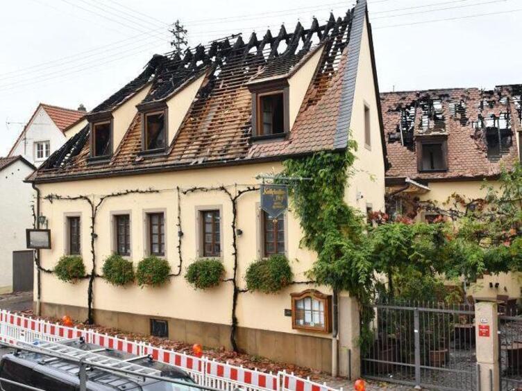 Kallstadter Hof Brand